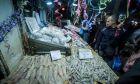 Ανοιχτή η ψαραγορά της Βαρβακείου Αγοράς