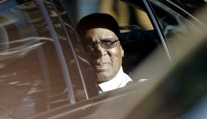 Ο Άντριου Μλανγκένι, συγκρατούμενος και συναγωνιστής του Νέλσον Μαντέλα