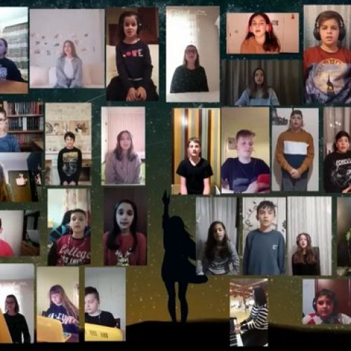 """Ξάνθη: Μαθητές δημοτικού στέλνουν το δικό τους """"ευχαριστώ"""" στους δασκάλους τους"""