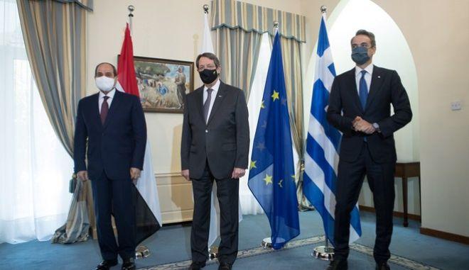 Τριμερής Σύνοδος Κορυφής Ελλάδας-Κύπρου-Αιγύπτου