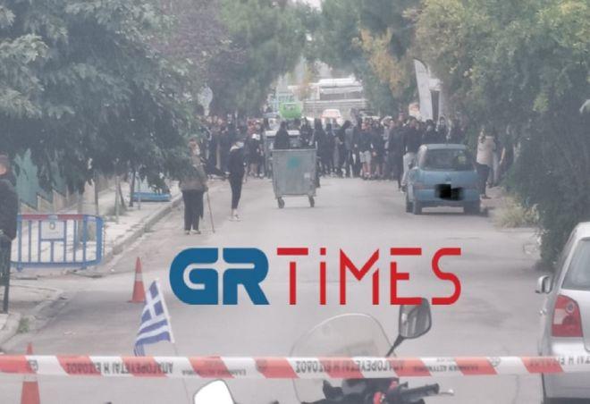 ΕΠΑΛ Ευόσμου: Σε συλλήψεις μετατράπηκαν 8 από τις 38 προσαγωγές για τα επεισόδια