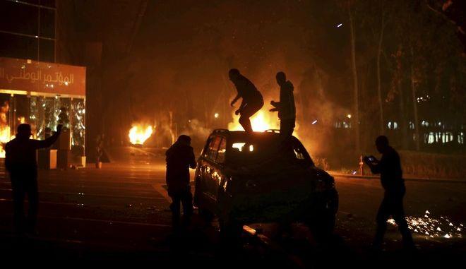 Συγκρούσεις στην Τρίπολη τον Μάρτιο του 2014