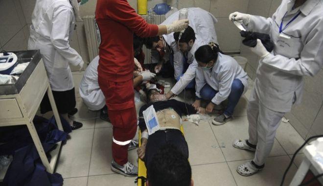 επίθεση με χημικά στη Ντούμα της Συρίας