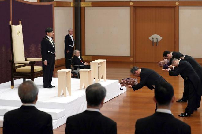 Τελετής ενθρόνισης του νέου αυτοκράτορα της Ιαπωνίας, Ναρουχίτο