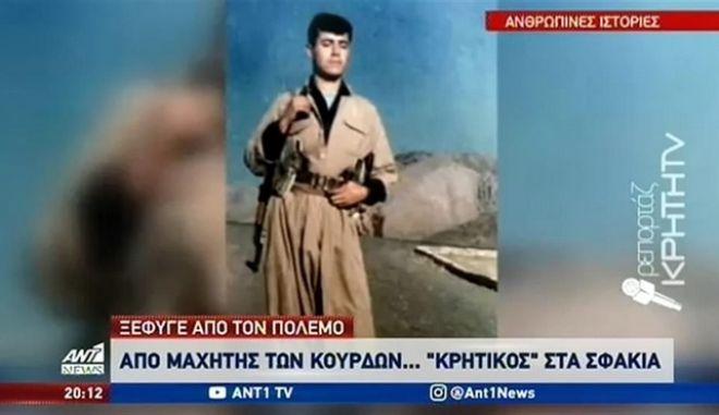 """Κεντέρ Περόντ: Ο Κούρδος που ζει μόνιμα στην Κρήτη- """"Τα Σφακιά μού θυμίζουν τα βουνά μας"""""""