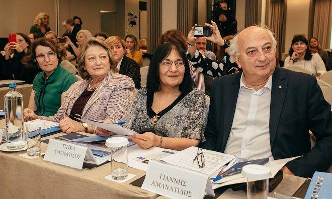 Mary Pyatt, Σίσσυ Παυλοπούλου, Τιτίκα Αμμανατίδη, Γιάννης Αμμανατίδης