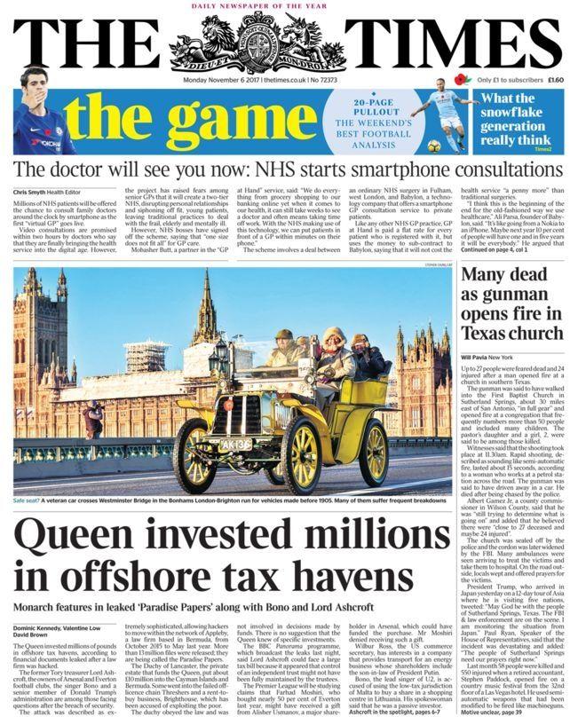 Paradise Papers: Η Βασίλισσα στα μανταλάκια