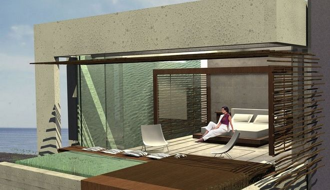 Πρότυπο βιοκλιματικό δωμάτιο ξενοδοχείου, με χρήση ΑΠΕ