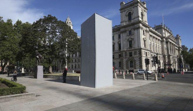 Το άγαλμα του Τσόρτσιλ στο Λονδίνο