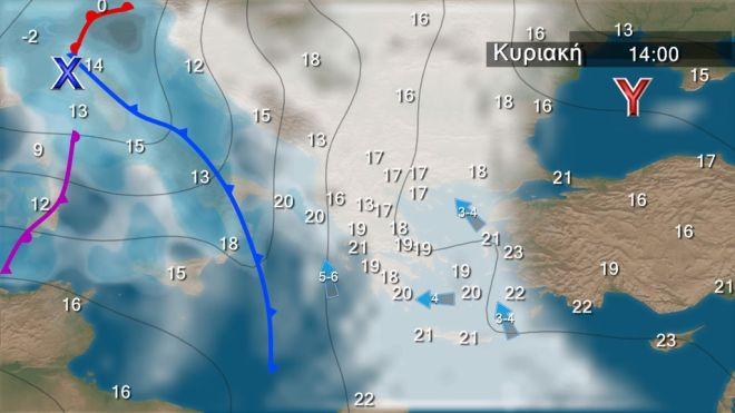 Καιρός: Ανεβαίνει η θερμοκρασία - Έρχονται νοτιάδες