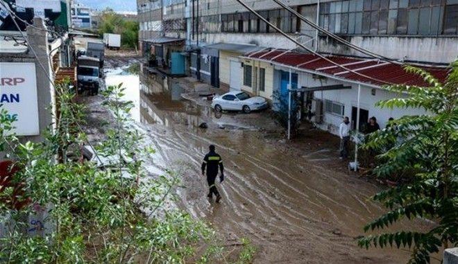 Σχέδια διαχείρισης των κινδύνων πλημμύρας για Πελοπόννησο και Κρήτη