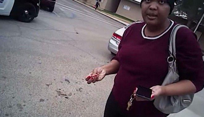 Βίντεο: Αστυνομικοί ρίχνουν στο έδαφος έγκυο και την δένουν πισθάγκωνα