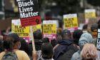 Διαδήλωση του κινήματος Black Lives Matter στο Λονδίνο