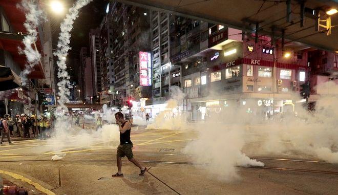 Αιματηρά επεισόδια στο Χονγκ Κονγκ