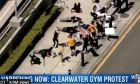 Διαμαρτυρία με push-ups στη Φλόριντα