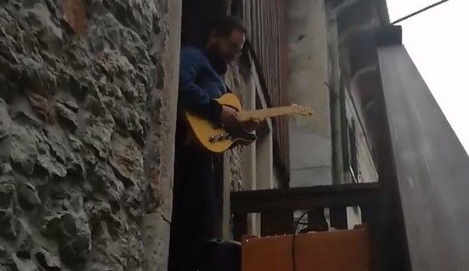 Κορονοϊός στην Ιταλία: Καραντίνα σε ρυθμούς Pink Floyd
