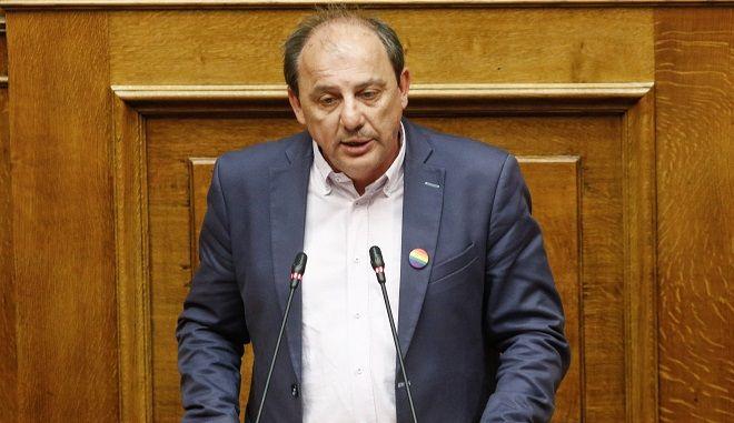 Ο βουλευτής Δράμας Χρήστος Καραγιαννίδης