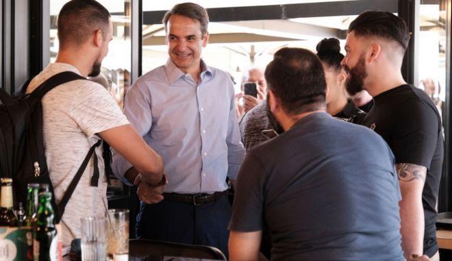 Μητσοτάκης: Δε θέλω να είστε αντιΣΥΡΙΖΑ, θέλω να είστε με τη ΝΔ