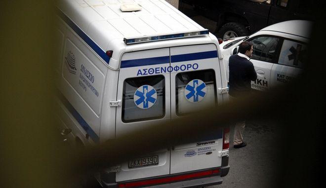 Ασθενοφόρο (ΦΩΤΟ Αρχείου)