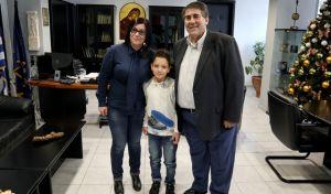 """Τάσος Γεραντίδης: Ο 8χρονος """"Αϊνστάιν"""" από την Πέλλα"""