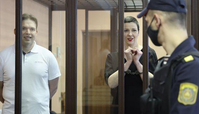 Λευκορωσία: Φυλάκιση 11 ετών στην ηγέτιδα της αντιπολίτευσης Κολεσνίκοβα