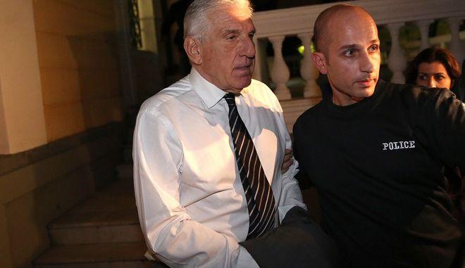 Ο Γιάννος Παπαντωνίου μετά την απόφαση για προφυλάκισή του