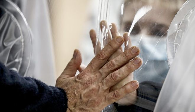 Άνθρωποι σε νοσοκομείο της Ιταλίας