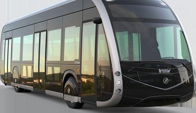 Ηλεκτρικό λεωφορείο Irizar ie tram: Πρώτη δοκιμή σήμερα στη γραμμή 2 Παγκράτι - Κυψέλη