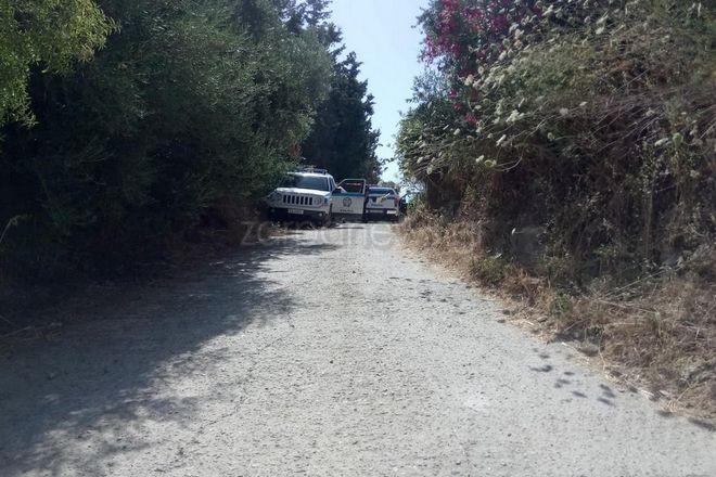 Αποκλεισμένο από την αστυνομία το σημείο που βρέθηκε η σορός