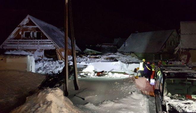 Νορβηγία: Ένας νεκρός από χιονοστιβάδα που καταπλάκωσε σπίτια