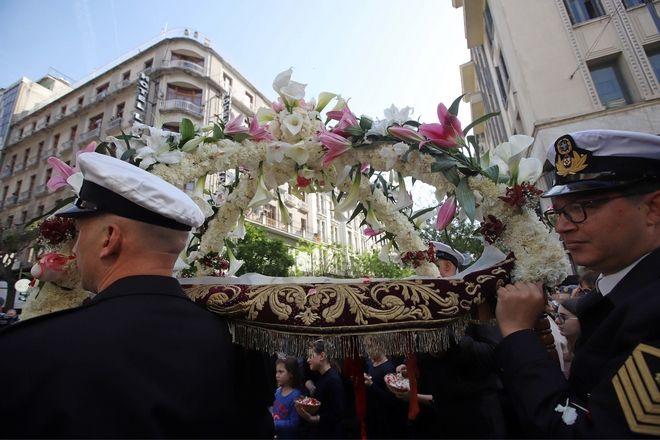 Θεσσαλονίκη - Περιφορά του Επιταφίου του Αγίου Μηνά στο κέντρο της πόλης (ΜΟΤΙΟΝΤΕΑΜ/ΓΙΩΡΓΟΣ ΚΩΝΣΤΑΝΤΙΝΙΔΗΣ)