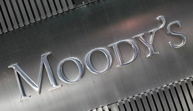 """FILE - This August 2010 file photo shows a sign for Moody's Corp. in New York. America has a debt problem, and the big borrower this time may surprise you: Corporate America. At many businesses, cash is falling, debt is ballooning and finances are getting worse. Formerly highly-rated corporate borrowers that are cut to junk and thus made too risky for many bond funds are known as """"fallen angels."""" Moodys tallied 56 fallen angels in the first six months of 2016. (AP Photo/Mark Lennihan, File)"""