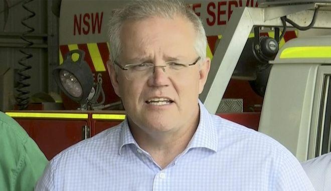 Αυστραλός πρωθυπουργός Σκοτ Μόρισον