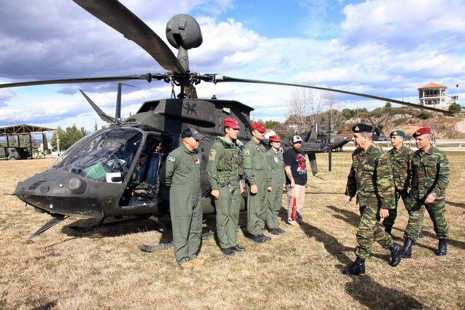 Πραγματοποιήθηκε, στο Πεδίο Βολής Αρμάτων Λιτοχώρου (ΠΒΑΛ), η επιχειρησιακή εκπαίδευση της 1ης Ταξιαρχίας Αεροπορίας Στρατού, παρουσία του Αρχηγού του Γενικού Επιτελείου Στρατού, Αντιστράτηγου Χαράλαμπου Λαλούση
