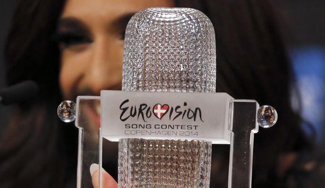 Η τραγουδίστρια Κοντσίτα που εκπροσώπησε την Αυστρία και κέρδισε τον διαγωνισμό της Eurovision το 2014