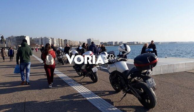 Θεσσαλονίκη: Πτώση άνδρα στο Θερμαϊκό