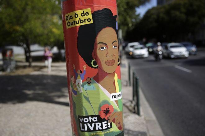 Η προεκλογική εκστρατεία της Joacine Katar Moreira.