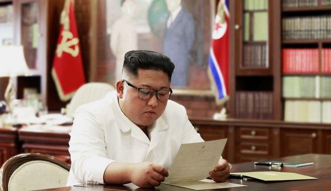 Ο Κιμ Γιονγκ Ουν