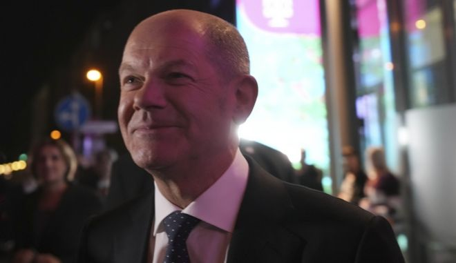 O υποψήφιος του SPD για την καγκελαρία, Όλαφ Σολτς