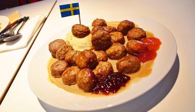 Η Σουηδία παραδέχθηκε πως τα κεφτεδάκια του ΙΚΕΑ δεν είναι σουηδικά