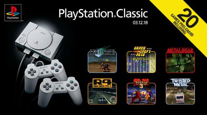 PlayStation Classic: Πότε έρχεται Ελλάδα - Πόσο θα κάνει. Τα 20 προ-εγκατεστημένα παιχνίδια