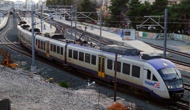 Τρένο - Φωτογραφία αρχείου / ΚΟΝΤΑΡΙΝΗΣ ΓΙΩΡΓΟΣ EUROKINISSI
