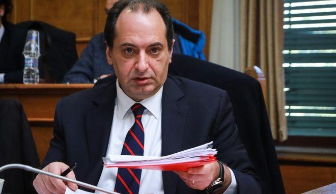 Ο υπουργός Υποδομών και Μεταφορών, Χρ. Σπίρτζης