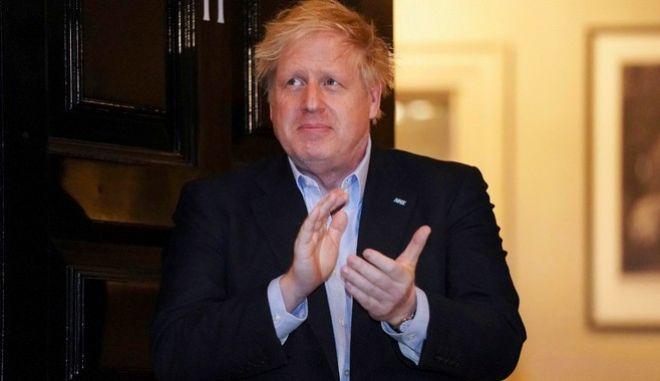 O Βρετανός πρωθυπουργός, Μπόρις Τζόνσον