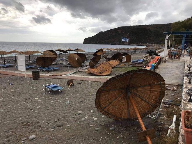Κακοκαιρία Κίρκη: Καταστροφές σε Χανιά, πλημμύρες σε Εύβοια - Πού κατευθύνεται