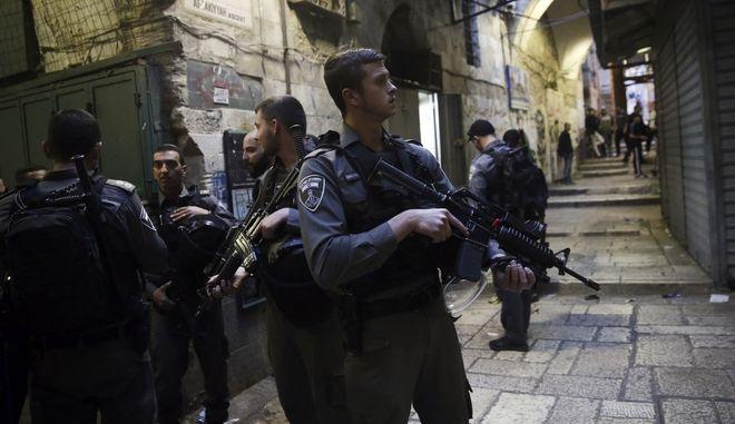 Αστυνομία στο Ισραήλ