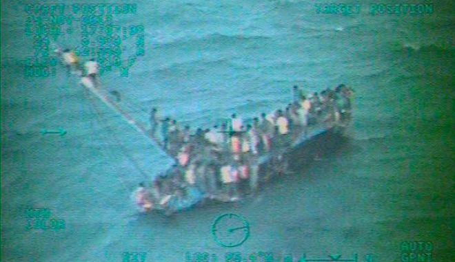 Πλοιάριο με παράνομους μετανάστες ναυάγησε στις Μπαχάμες