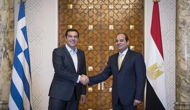 Συνάντηση Τσίπρα - Αλ Σίσι στο Κάιρο με πλούσια ατζέντα