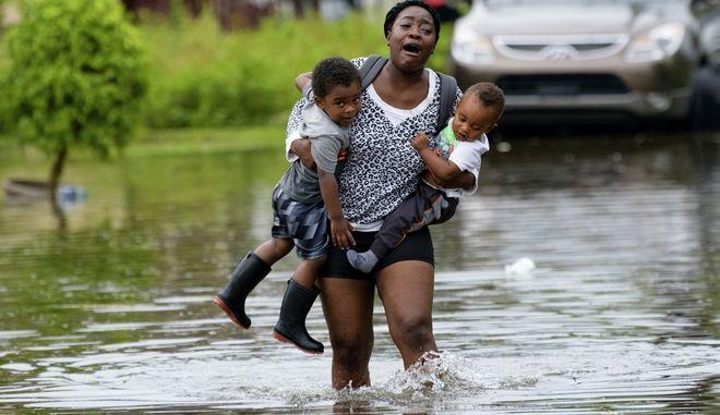 Πλημμύρες στη Νέα Ορλεάνη, 10 Ιουλίου