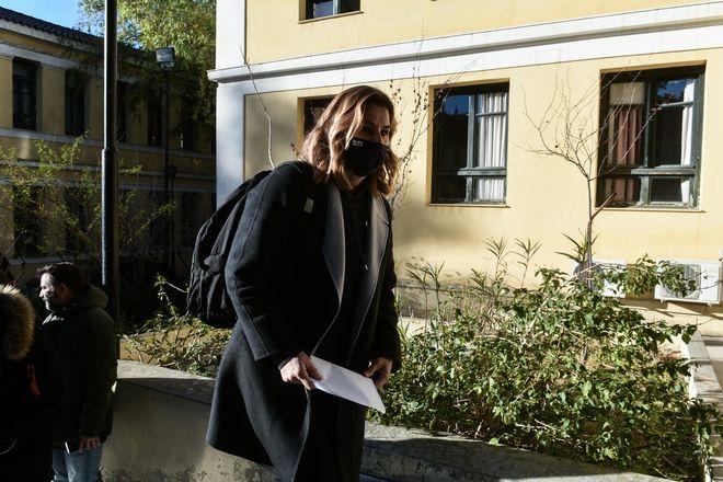 Κατάθεση της Ολυμπιονίκη Σοφίας Μπεκατώρου στον εισαγγελέα για τις καταγγελίες της περί σεξουαλικής κακοποίησης